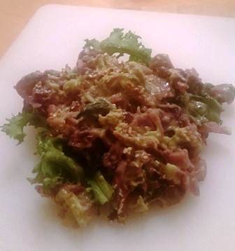 kale and cabbage sitr fry recipe